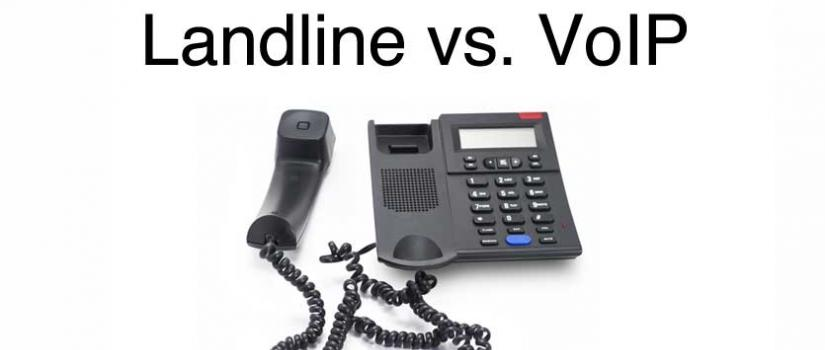Landline Phone Service >> Voip Phone Service For Small Businesses Technology Section